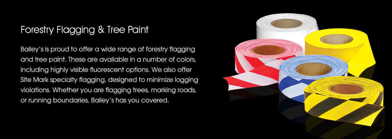 Forestry Flagging & Tree Paint