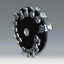 Reverse-S Stump Grinder Wheels