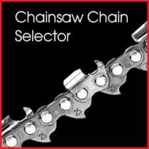 Chainsaw Chain Selector
