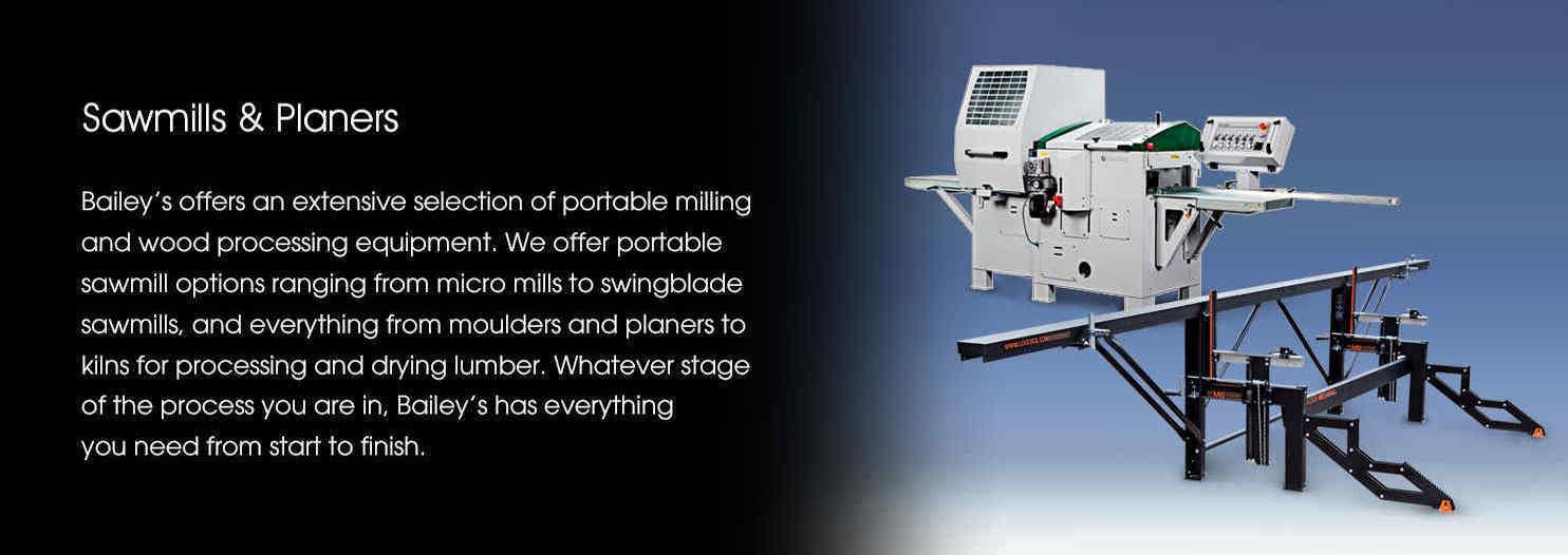Sawmills & Planers