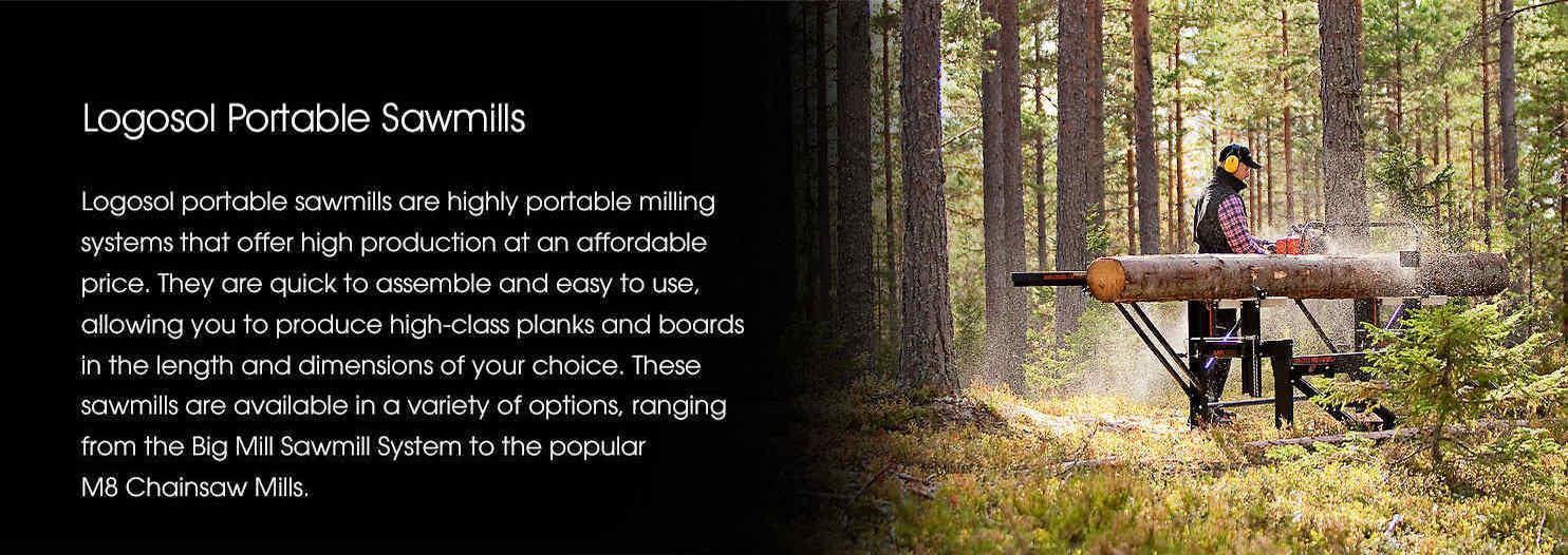 Logosol Portable Sawmills