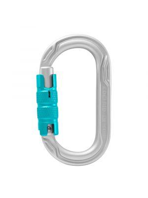 Edelrid Oval Power 2500 Triple Lock Carabiner (Silver)