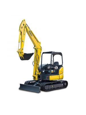 Kobelco SK55SRX-6E 37.4 HP Mini Excavator