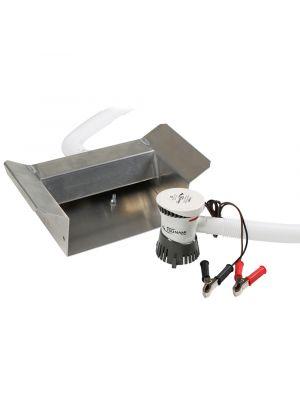 Recirculating Header For Sluice Box