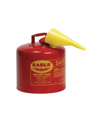 CARB Approved 5 Gallon Type 1 Gas Can (Red)